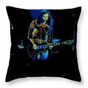 Outlaws #12 Art Psychedelic 2 Throw Pillow
