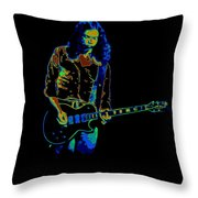 Outlaws #12 Art Psychedelic Throw Pillow