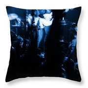 Outlaws #13 Blue Throw Pillow