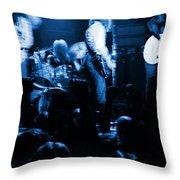 Outlaws #14 Blue Throw Pillow