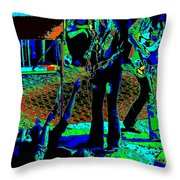 Outlaws #16 Art Psychedelic Throw Pillow