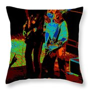 Outlaws #18 Art Cosmic Throw Pillow