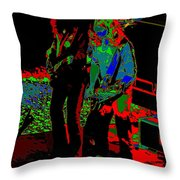 Outlaws #18 Art Psychedelic Throw Pillow