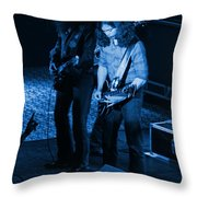 Outlaws #18 Blue Throw Pillow