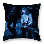 Outlaws #19 Blue Throw Pillow
