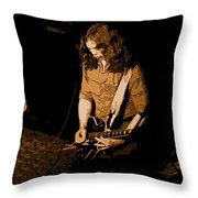 Outlaws #22 Colored Throw Pillow
