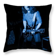 Outlaws #23 Blue Throw Pillow
