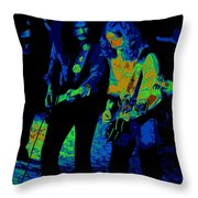 Outlaws #25 Crop 2 Art Psychedelic Throw Pillow