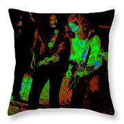 Outlaws #25 Crop 2 Cosmic Throw Pillow