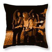 Outlaws #26 Crop 2 Art In Amber Throw Pillow