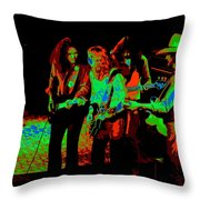 Outlaws #26 Crop 2 Art Cosmic Throw Pillow