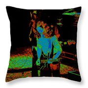 Outlaws #27 Art Psychedelic Throw Pillow