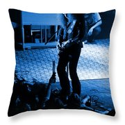 Outlaws #29 In Blue Throw Pillow