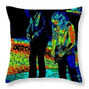 Outlaws #31 Crop 2 Art Psychedelic Throw Pillow