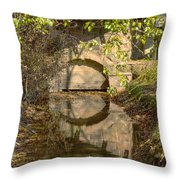 Outlet At The Mill Throw Pillow
