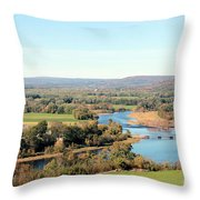 Outside City Limits Throw Pillow