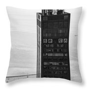 Outside Looking In - Willis Tower Chicago Throw Pillow