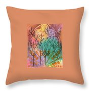 Outside The Horizon Throw Pillow