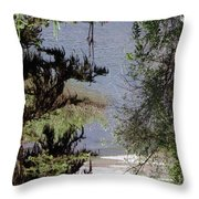 Outta The Woods Throw Pillow