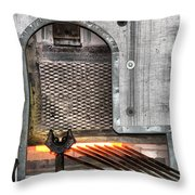 Oven Throw Pillow
