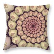 Over And Over Again Throw Pillow