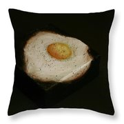Over Easy Throw Pillow
