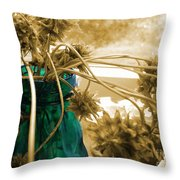 Over For The Clover Throw Pillow