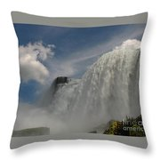 Over Here Now Throw Pillow