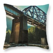 Over Rails Throw Pillow