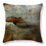 Over The Brick Wall One Throw Pillow