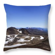 Over The Hills. Across The Fields. Throw Pillow by Evelina Kremsdorf
