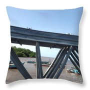 Over The Other Side Throw Pillow