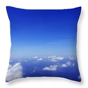 Over The Pacific Throw Pillow