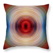 Over The Rainbow Spin Art 10 Throw Pillow
