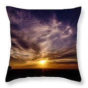 ...over There... Throw Pillow