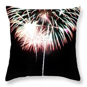 4th Of July Fireworks 4 Throw Pillow
