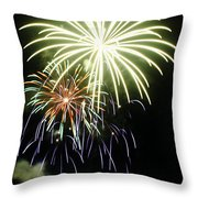 4th Of July Fireworks 5 Throw Pillow