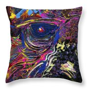 Overby Eye Throw Pillow