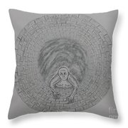 Overcoming With Description Throw Pillow by Gerald Strine