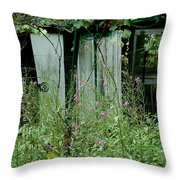 Overgrown Throw Pillow
