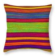 Overlay Stripes Throw Pillow