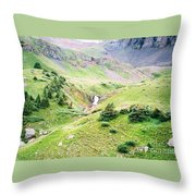 Overlooking Beauty Throw Pillow