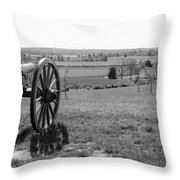 Overlooking Bilgerville Road Farm   Throw Pillow