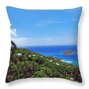 Overlooking Paradise Throw Pillow