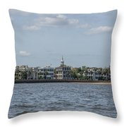 Overlooking The Sea Throw Pillow