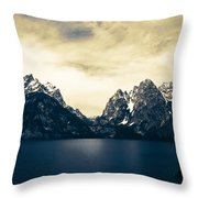 Overshadowing  Throw Pillow