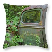 Overtaken Throw Pillow