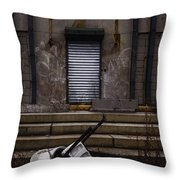 Overturned Throw Pillow by Margie Hurwich