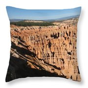 Overview At Bryce Canyon Throw Pillow