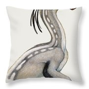Oviraptor, A Small Dinosaur That Lived Throw Pillow